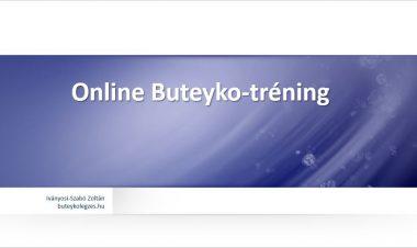 Online Buteyko-tréning